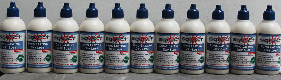 Squirt Lube getest